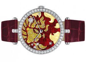 đồng hồ hình cung hoàng đạo2