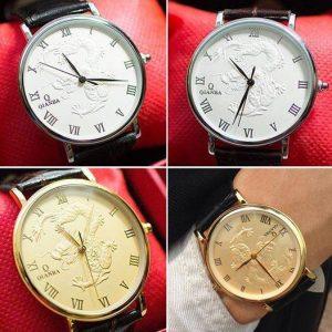 đồng hồ in hình rồng