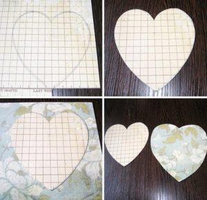 cách làm khung ảnh hình trái tim1