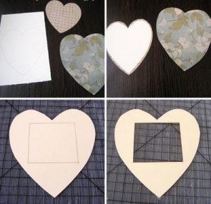 cách làm khung ảnh hình trái tim2