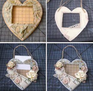 cách làm khung ảnh trái tim1