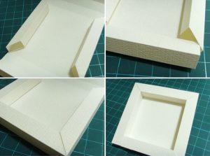 cách làm khung ảnh bằng bìa cứng1