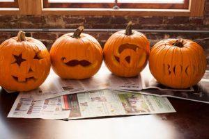 cách tỉa bí ngô halloween1