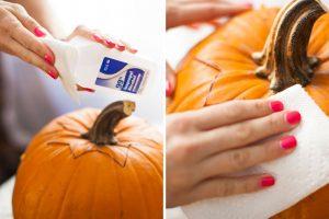cách tỉa bí ngô halloween2
