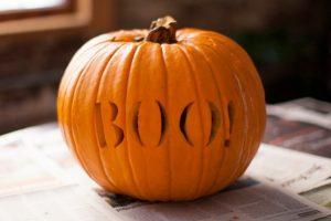 cách tỉa bí ngô halloween4